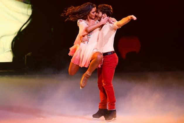 Sarah Lombardi – Joti Polizoakis bei Dancing on ice am 27.1.2019