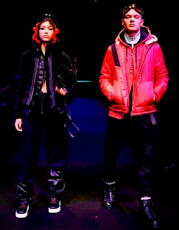 Schwarz und Rot - Klassiker in den Modefarben - hier Bogner Herbst-Winter 2019-2020