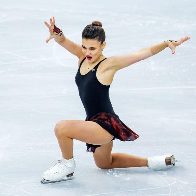 Sofia Samodurova gewinnt Gold der Eiskunstlauf EM 2019 in Minsk - hier im Kurzprogramm