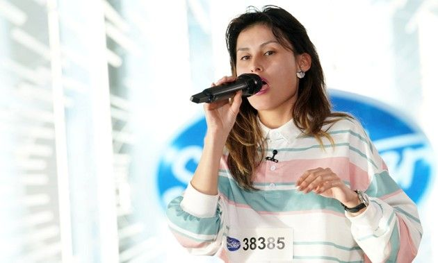 Stephanie Rios-Saab bei DSDS am 5.1.2019
