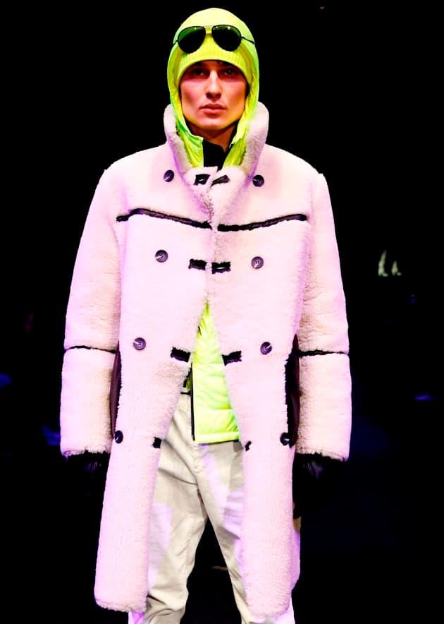 Teddy-Mantel für Herren von Bogner Wintermode 2019-2010 zur MBFW Fashion Week Berlin Januar 2019
