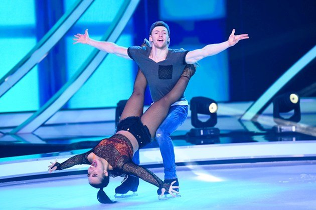 Timur Bartels - Amani Fancy bei Dancing on Ice am 6.1.2019