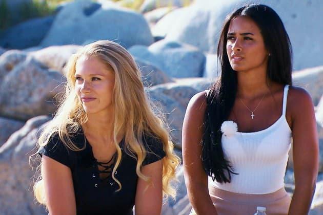 Vanessa und Nathalia beim Bachelor am 16.1.2019