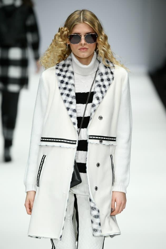 Weißer Kurzmantel von Sportalm für die Mode im Winter 2020