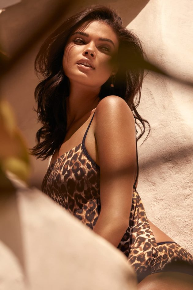 Andres Sarda Lingerie Sommer 2019 Modell Curacao mit Tiger-Print