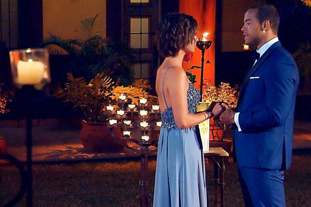 Bachelor 2019 Finale am 27.2.2019 hier Jenny (Jennifer) mit Andrej