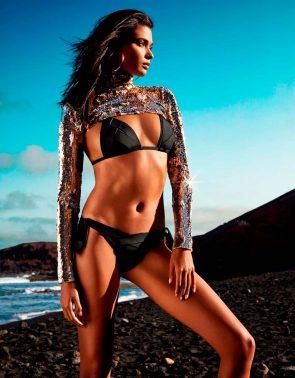Bademode 2019 Andres Sarda Bikini Modell Musha