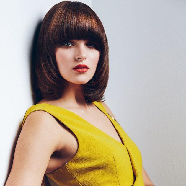 Frisuren 2019 Frühjahr-Sommer 2019 - Frisuren-Trends aus den 70er-Jahren geholt - hier Shag