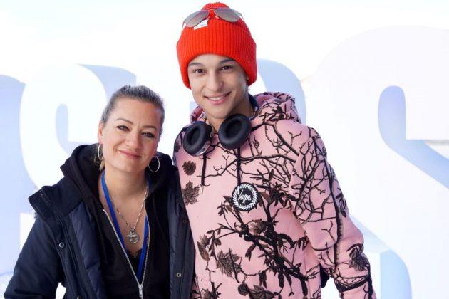 Juliette Schoppmann und Prince Damien
