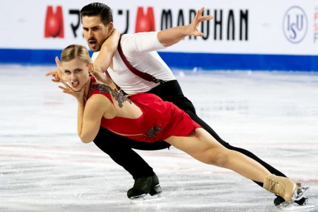 Madison Hubbell - Zachary Donohue aus den USA - Favoriten bei den Eistanz-Paaren - 4 Continents Championships 2019