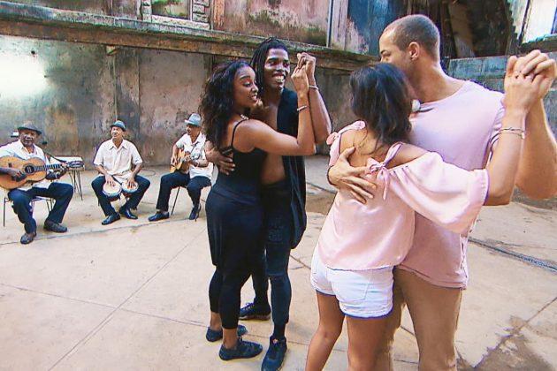 Salsa tanzen beim Bachelor am 20.2.2019
