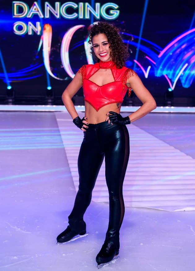 Sarah Lombardi bei Dancing on Ice 2019