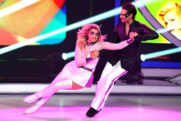 Sarina Nowak - David Vincour bei Dancing on Ice am 3.2.2019