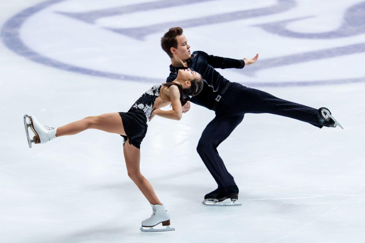 Apollinariia Panfilova - Dmitry Rylov Eiskunstlauf-WM 2019 Junioren