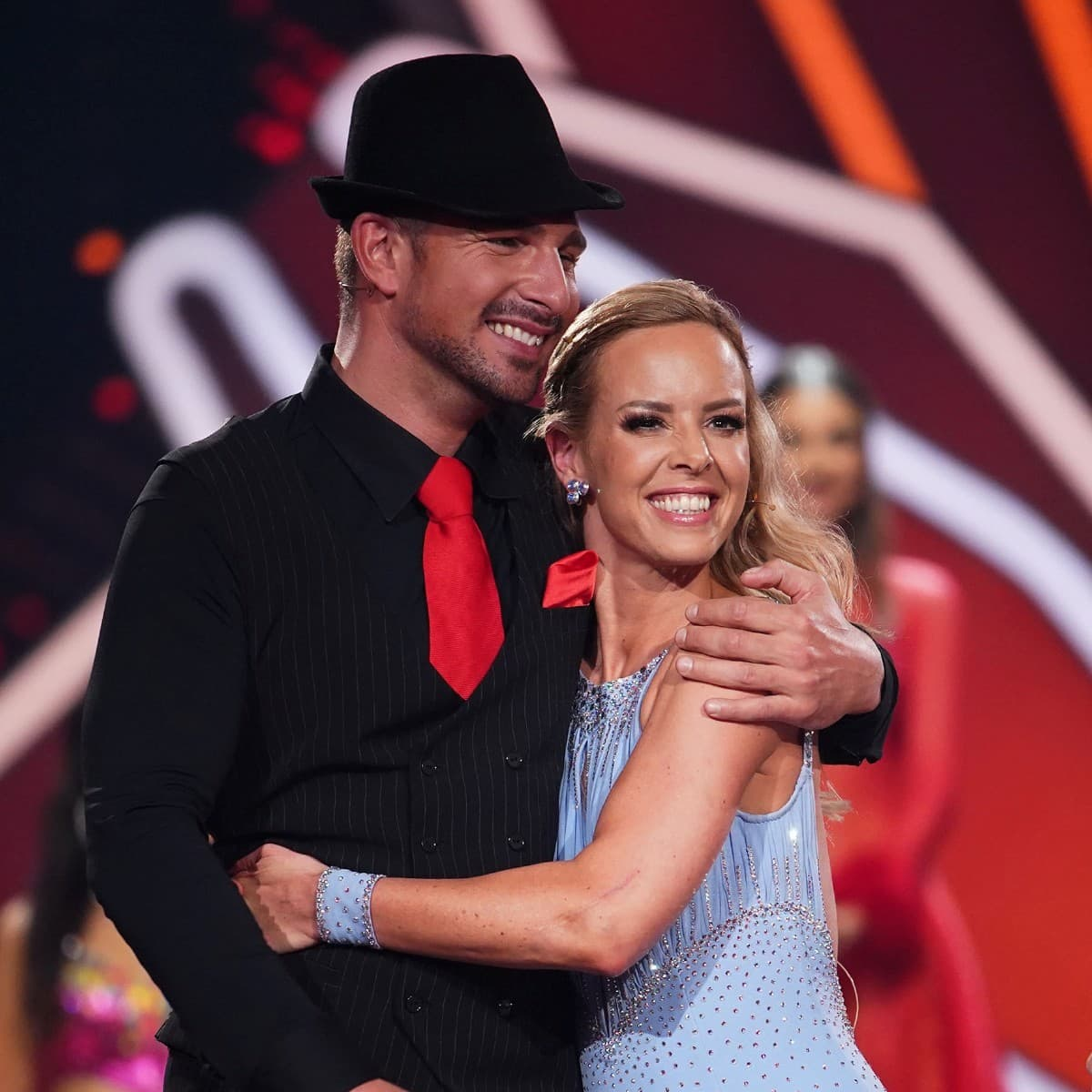Benjamin Piwko - Isabel Edvardsson können nicht ausscheiden bei Let's dance am 22.3.2019