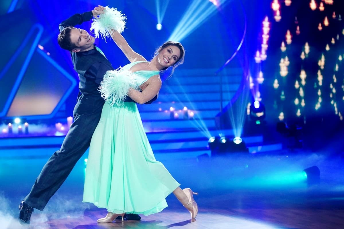 Christian Polanc - Nazan Eckes bei Let's dance am 29.3.2019