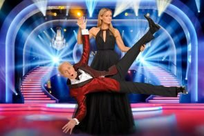 Dancing Stars 2019 Die Profis - Profitänzer, Tänzerinnen, Jury, Moderatoren, Choreografen - hier Mirjam Weichselbraun und Klaus Eberhartinger