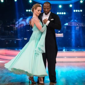 Dancing Stars 2019 am 22.3.2019 Kritik Was für ein Theater - hier Soso Mugiraneza - Helene Exel