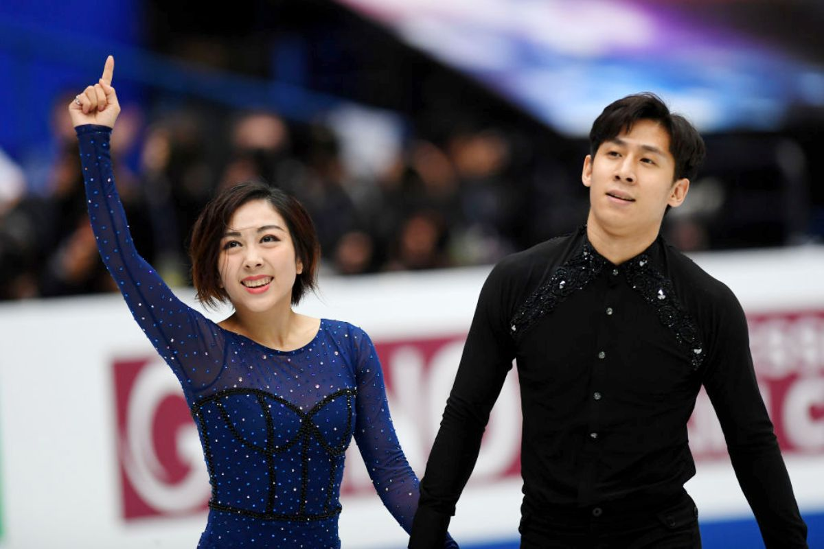 Eiskunstlauf-Weltmeister 2019 Wenjing Sui - Cong Han aus China