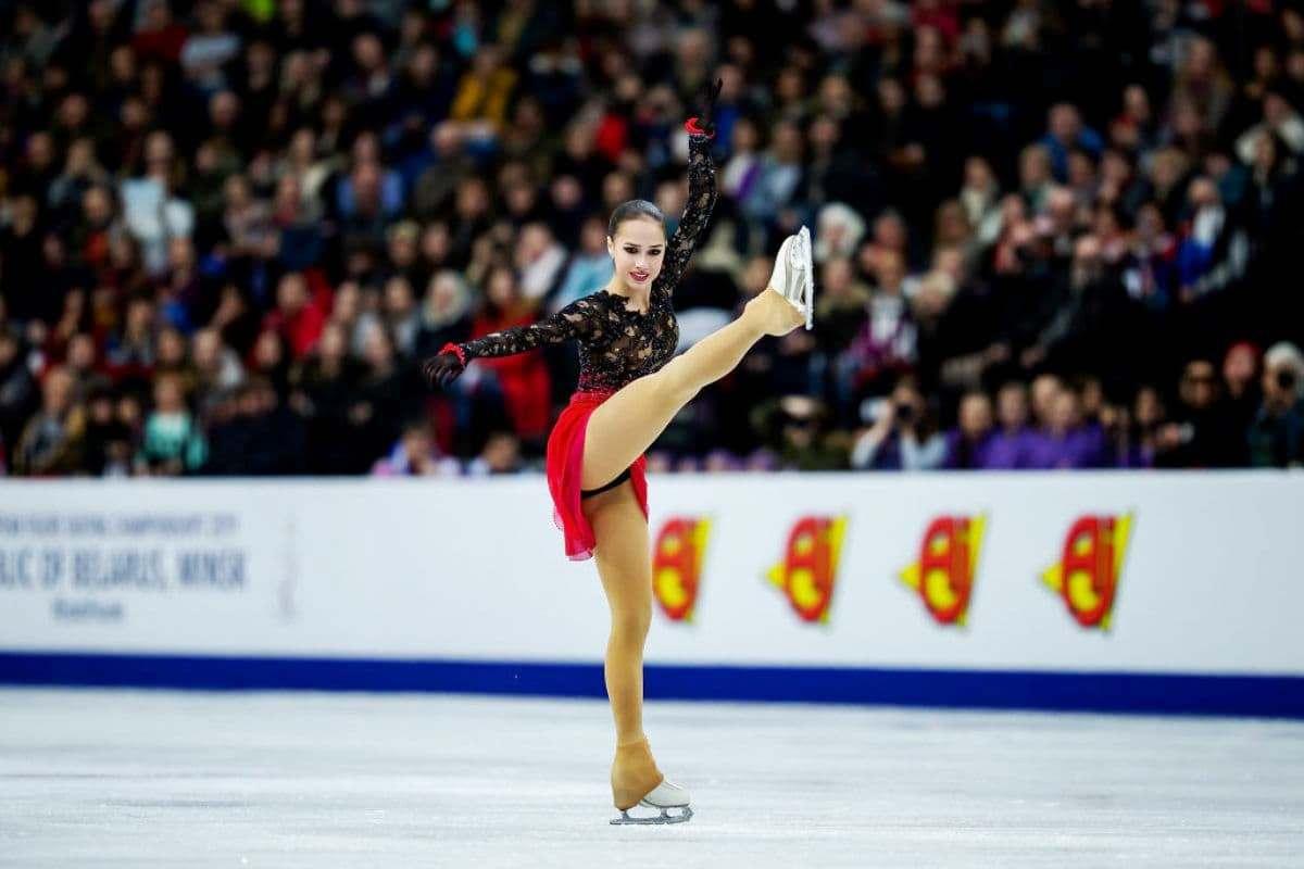 Eiskunstlauf Weltmeisterschaft 2019 Ergebnisse aus Japan - hier Alina Zagitova 2019