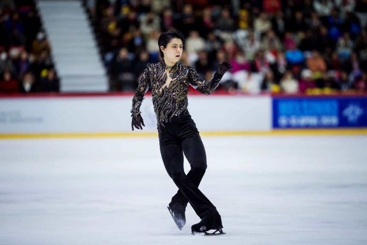 Favorit Eiskunstlauf-WM 2019 Yuzuru Hanyu aus Japan