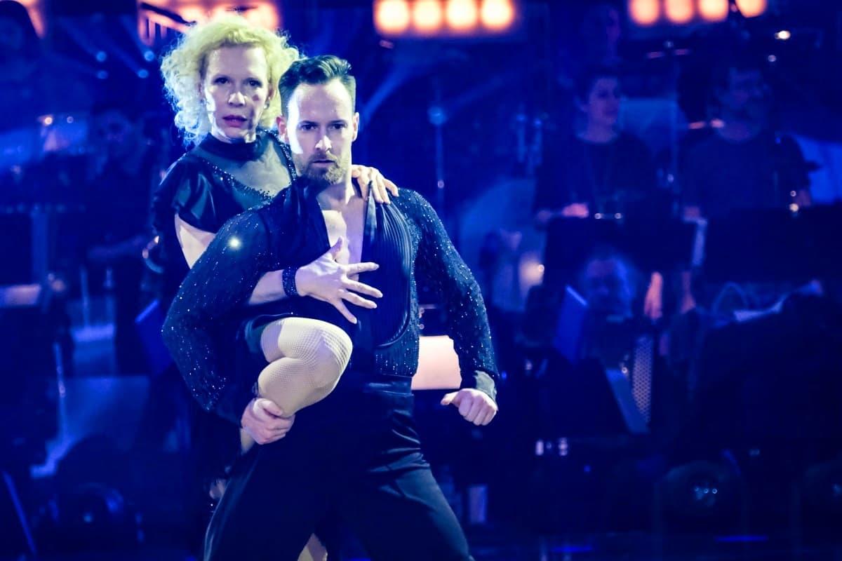 Florian Vana -Sunnyi Melles bei den Dancing Stars am 15.3.2019