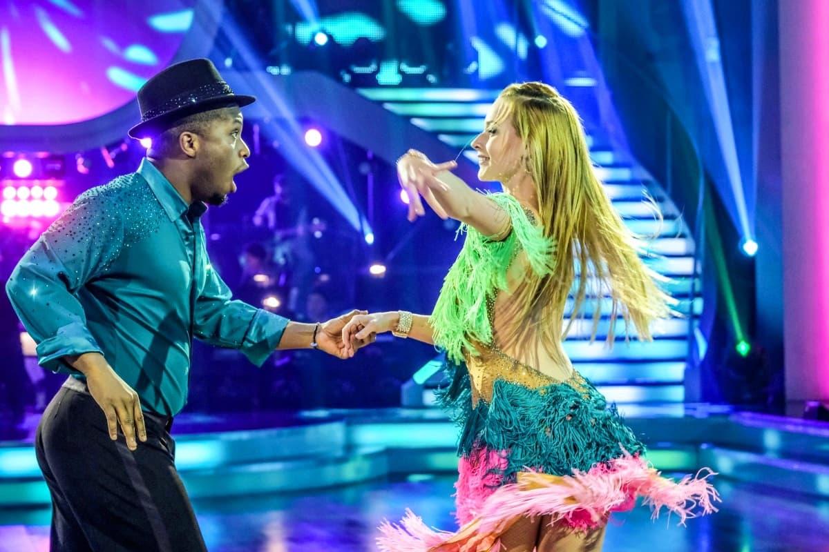 Helene Exel - Soso Mugiraneza bei den Dancing Stars am 15.3.2019
