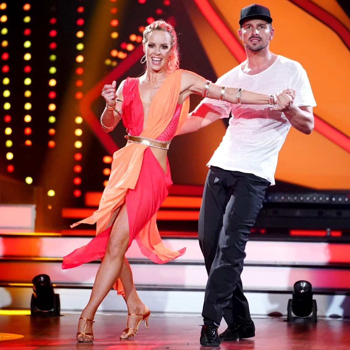 Isabel Edvardsson - Benjamin Piwko bei Let's dance am 29.3.2019
