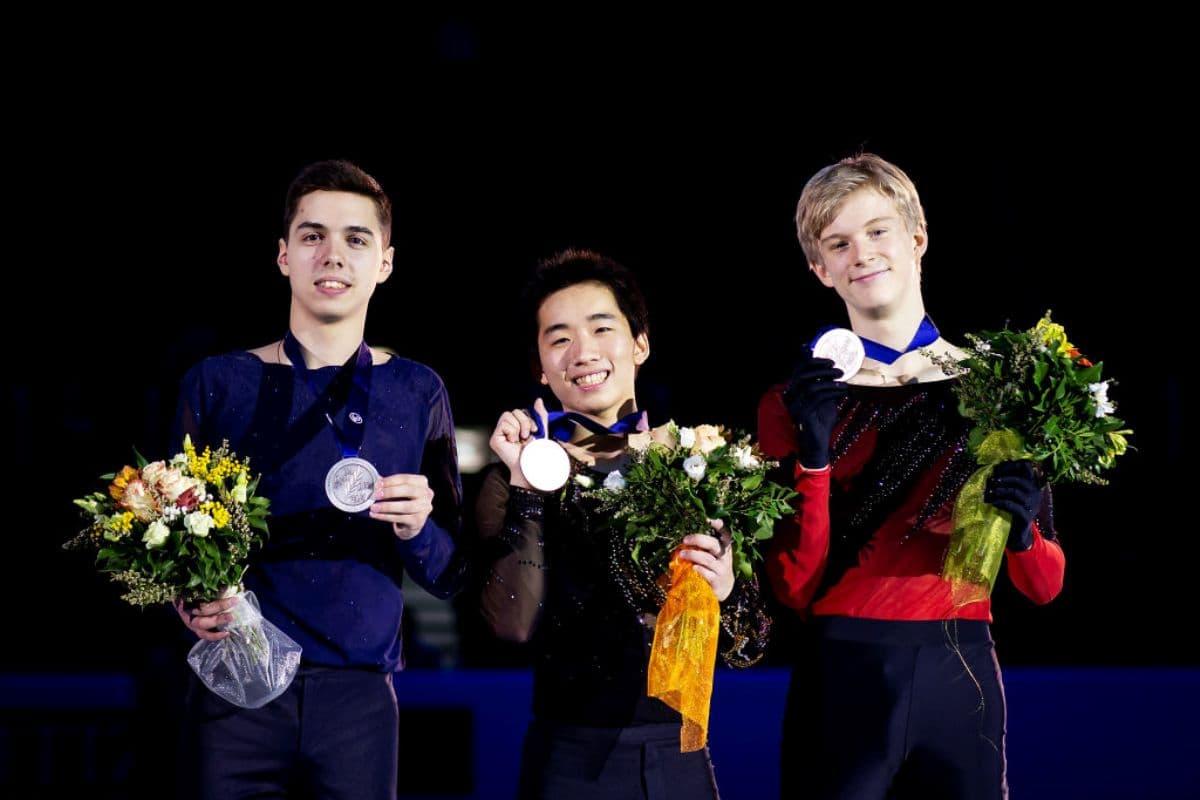 Junioren Eiskunstlauf WM 2019 Siegerehrung Herren