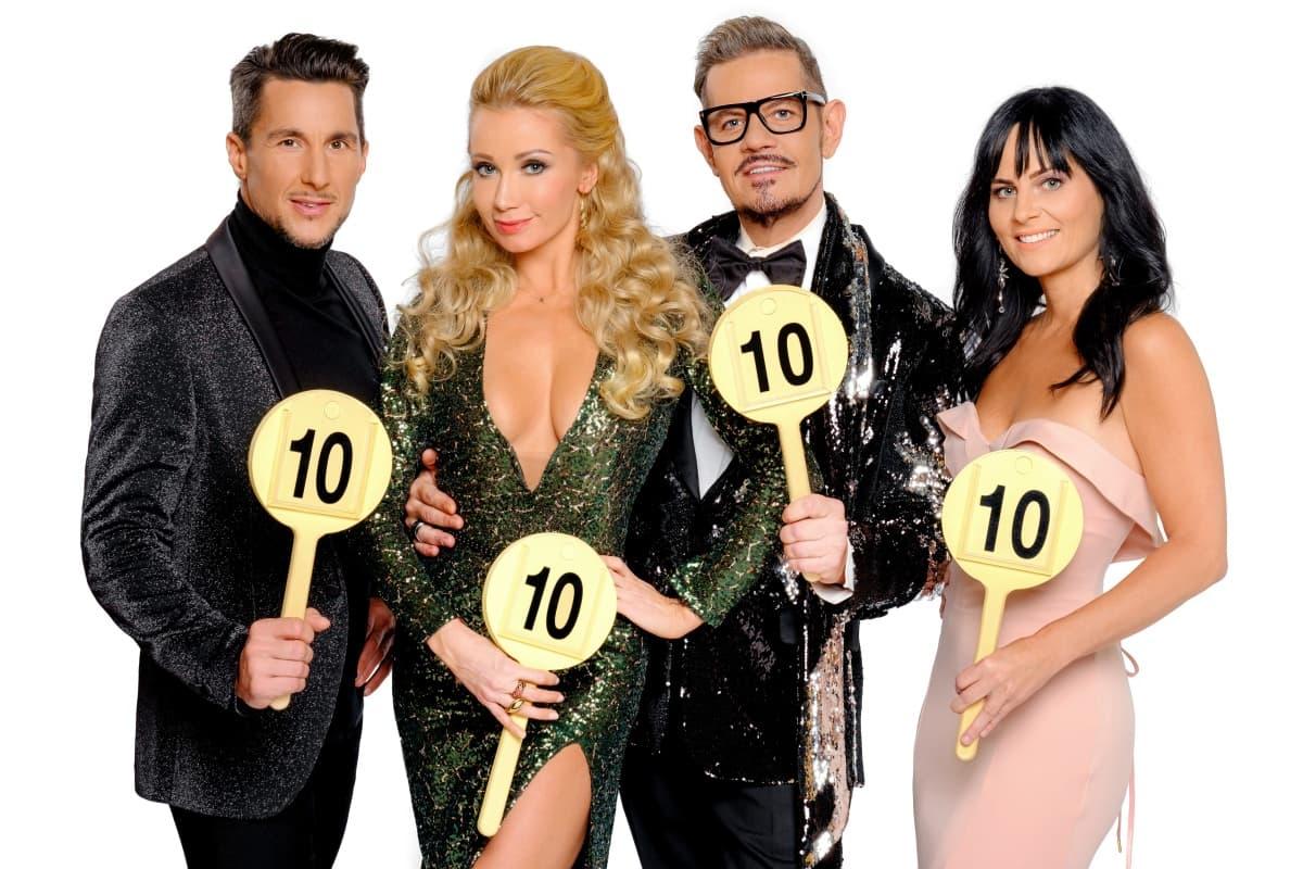 Jury Dancing Stars 2019 - Balazs Ekker, Karina Sarkissova, Dirk Heidemann, Nicole Hansen