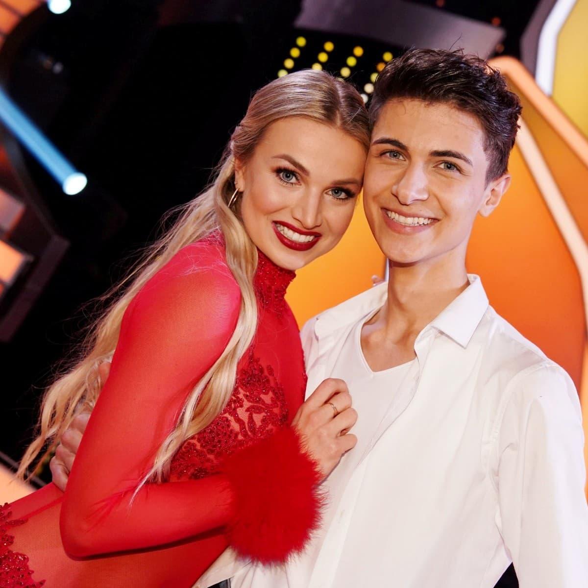 Katja Kalugina - Lukas Rieger Tanzpaar bei Let's dance 2019