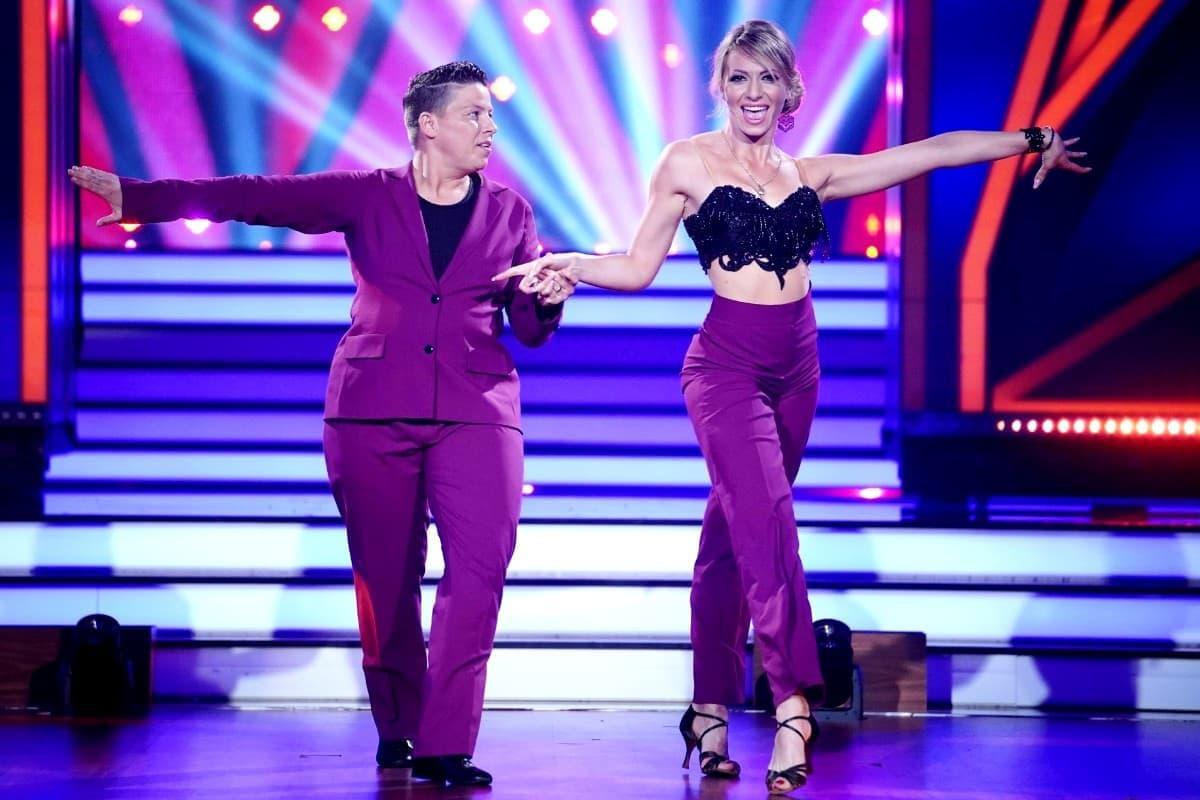 Kerstin Ott - Regina Luca bei let's dance am 29.3.2019
