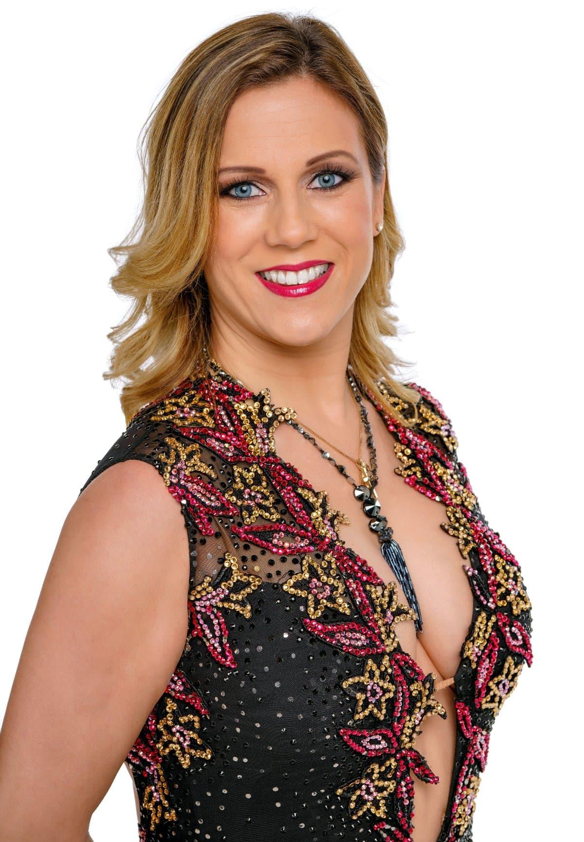 Manuela Stöckl als Profitänzerin bei den Dancing Stars 2019