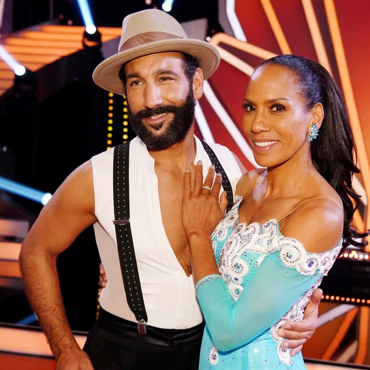 Massimo Sinato - Barbara Becker Tanzpaar bei Let's dance 2019