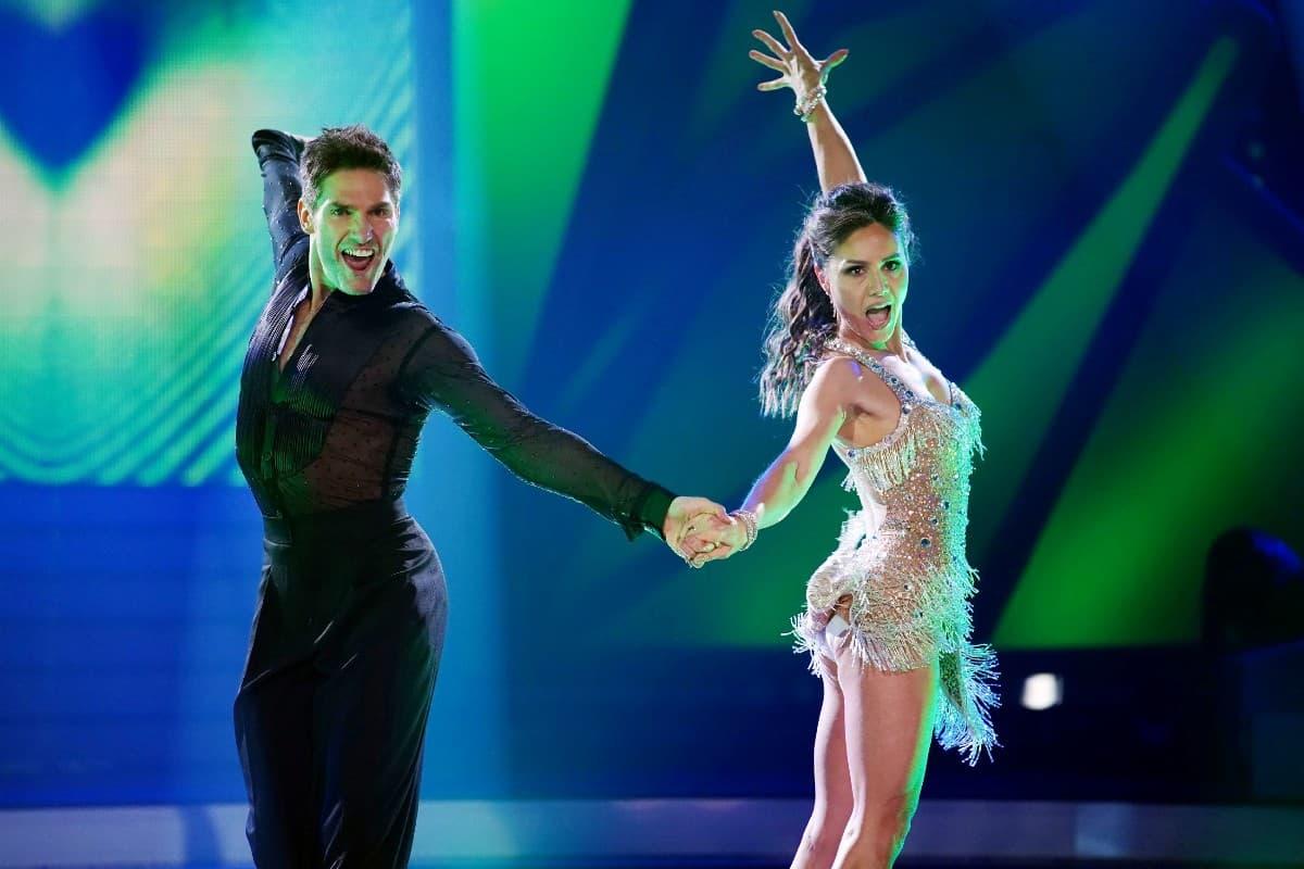 Nazan Eckes und Christian Polanc bei Let's dance am 22.3.2019