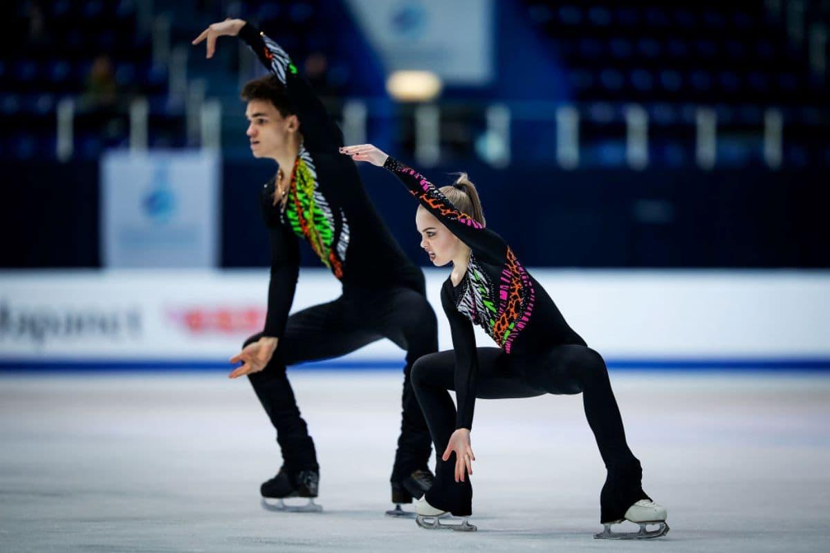Polina Kostiukovich - Dmitrii Ialin - Kür zur Junioren-WM Eiskunstlauf 2019