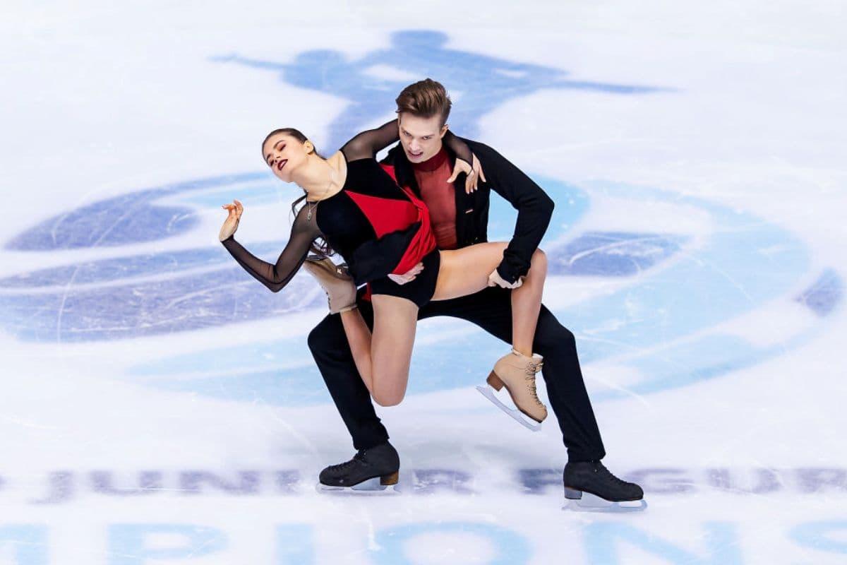 Sofia Shevchenko - Igor Eremenko Junioren Eiskunstlauf-WM 2019