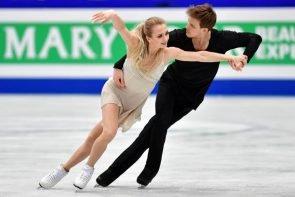 Victoria Sinitsina - Nikita Katsalapov - Vize-Weltmeister 2019 im Eistanz