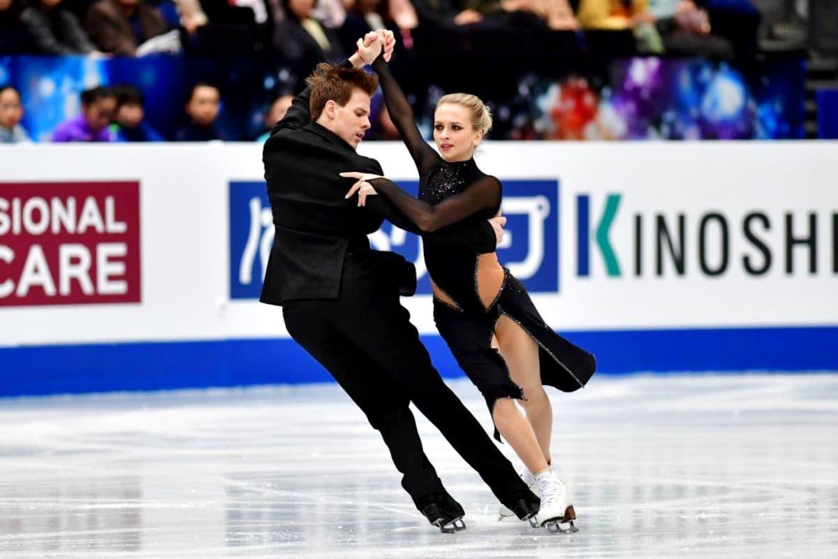 Victoria Sinitsina - Nikita Katsalapov zur Eiskunstlauf-WM 2019