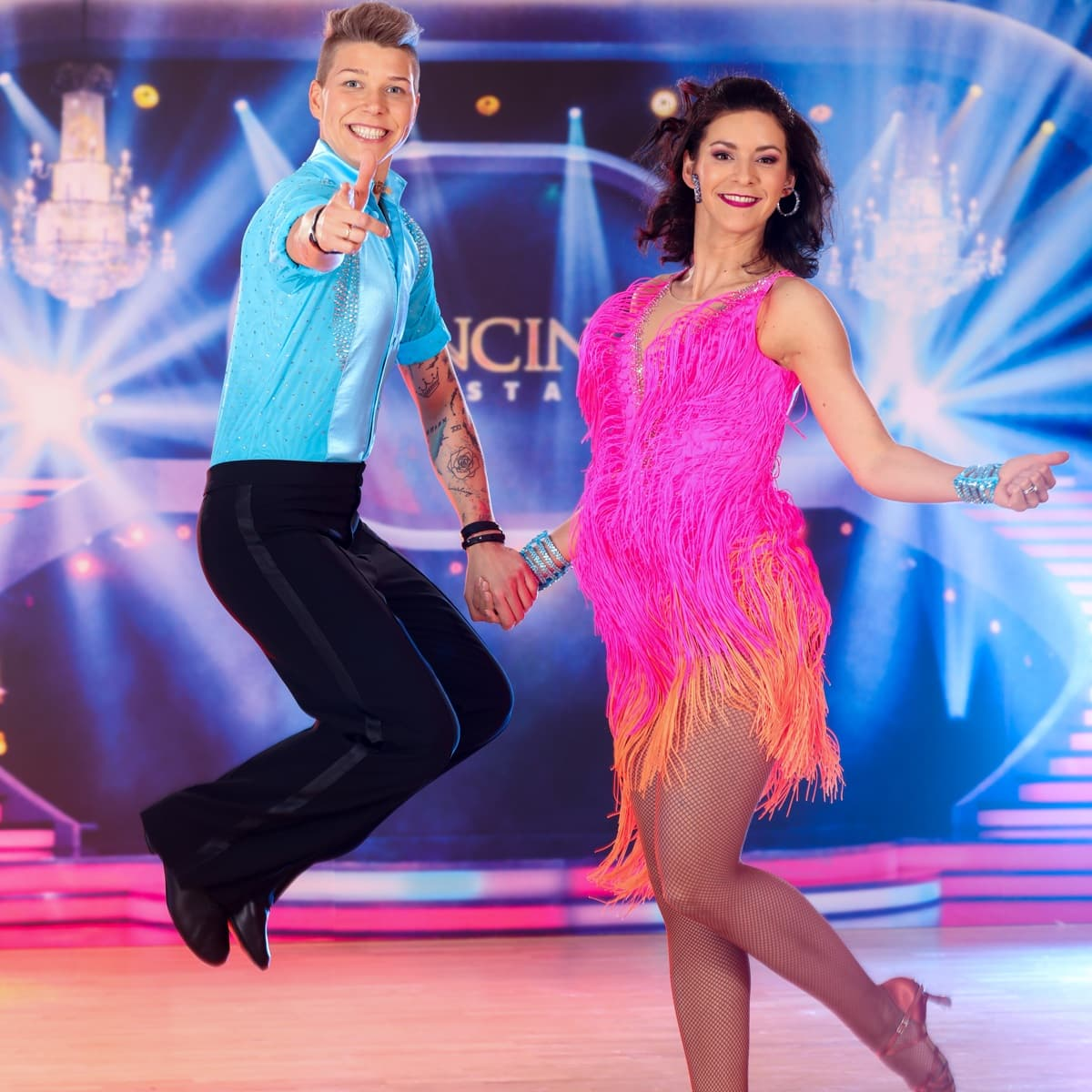 Virginia Ernst - Alexandra Scheriau bei den Dancing Stars 2019 am 22.3.2019