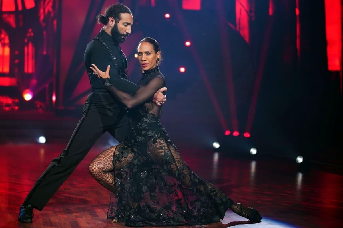 Barbara Becker - Massimo Sinato bei Let's dance am 12.4.2019
