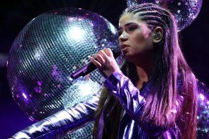 DSDS 2019 am 6.4.2019 - grandiose erste Live-Show - hier Joana Kesenci
