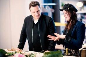 Guidos Masterclass - Mode-Sendung 2019 auf VOX - hier Guido Maria Kretschmer und Anna Schuster
