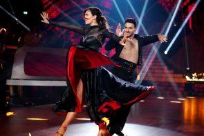 Let's dance 2019 am 26.4.2019 Kritik Himmelhochjauchzend, zu Tode betrübt - hier im Bild Ulrike Frank und Robert Beitsch