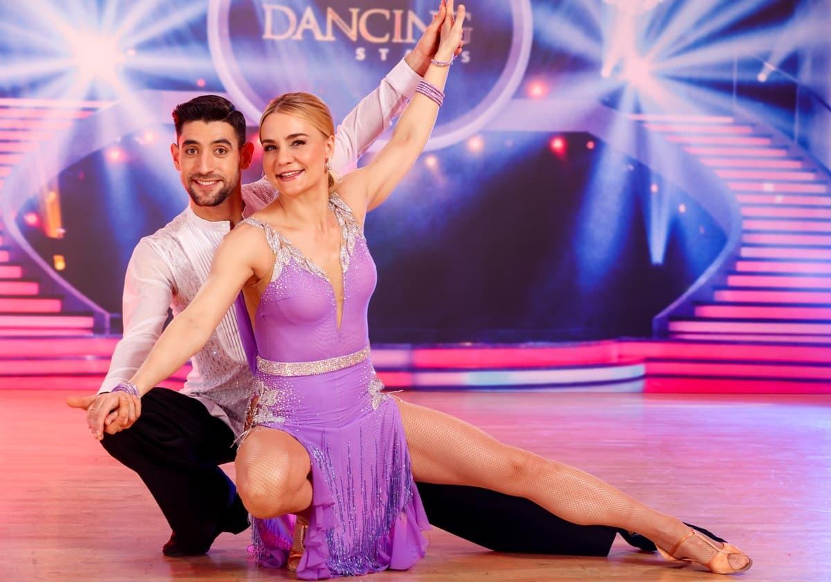 Nicole Wesner - Dimitar Stefanin bei den Dancing Stars am 5.4.2019