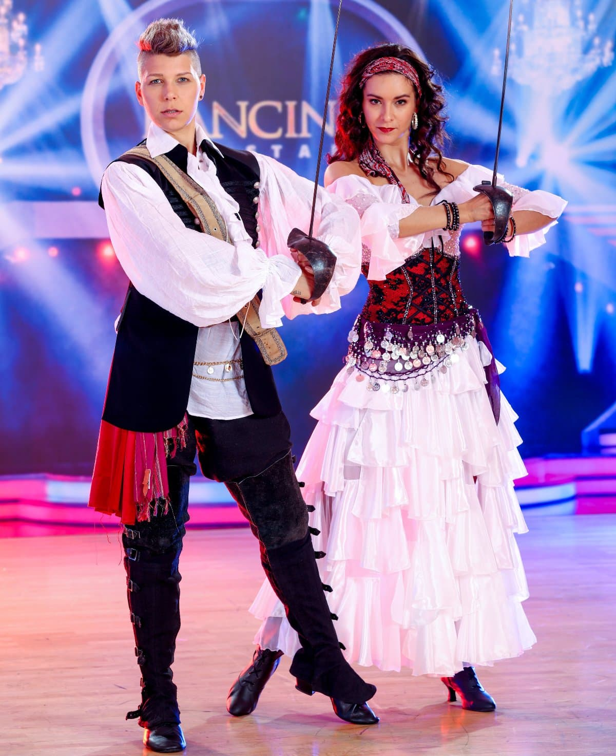 Virginia Ernst - Alexandra Scheriau bei den Dancing Stars am 26.4.2019