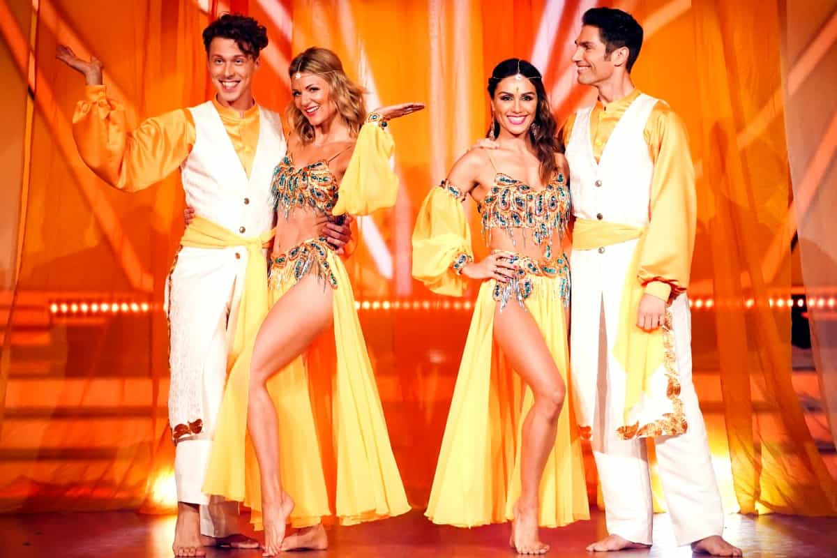 Bollywood bei Let's dance am 24.5.2019 - Valentin Lusin, Ella Endlich, Nazan Eckes und Christian Polanc