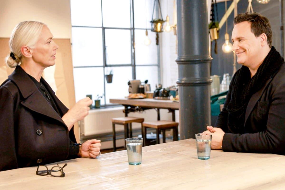 Christiane Arp (Vogue) und Guido Maria Kretschmer bei Guidos Masterclass 2019
