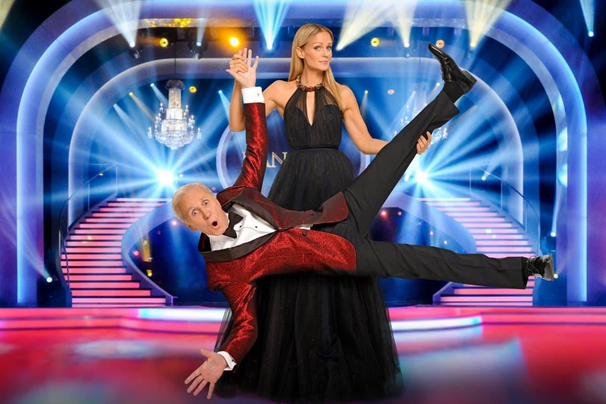 Dancing Stars 2020: Wünsche, Ideen und Gedanken - hier im Bild Mirjam Weichselbraun und Klaus Eberhartinger - Foto: ORF – Thomas Ramstorfer