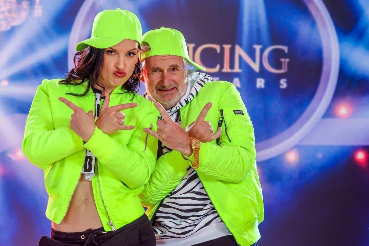 Dancing Stars am 3.5.2019 Fakten Songs, Tänze, Punkte, Ausgeschieden - hier im Bild Conny Kreuter und Michael Schottenberg
